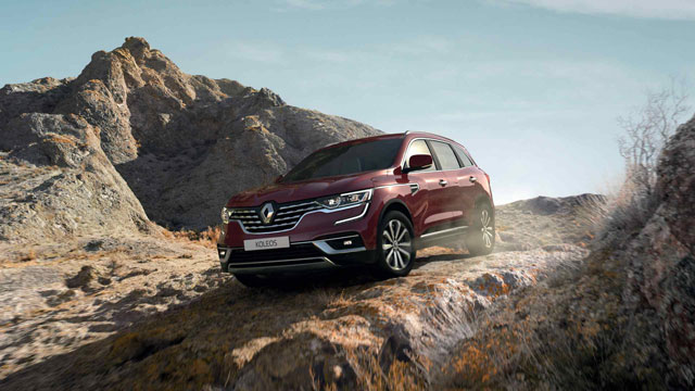 Ready to take the adventure off road? KOLEOS asserts its true 4x4 nature