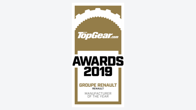 Renault awarded Manufacturer of the Year