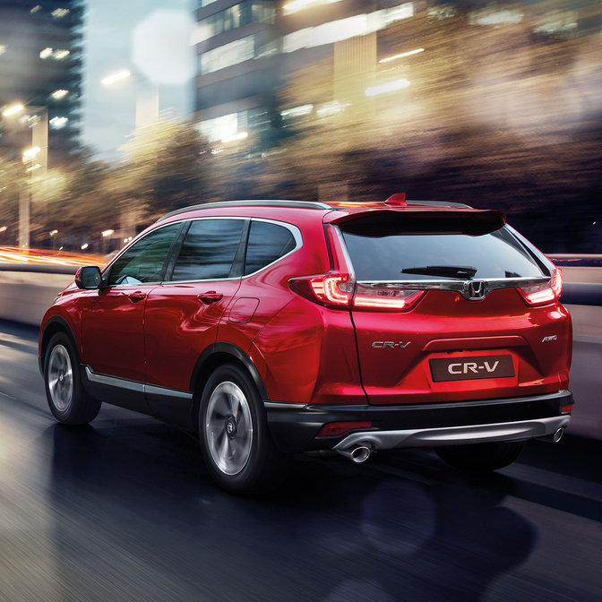 The most sophisticated chassis ever created for the CR-V