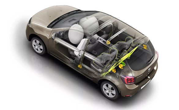 Dacia New Sandero Increased protection of passengers